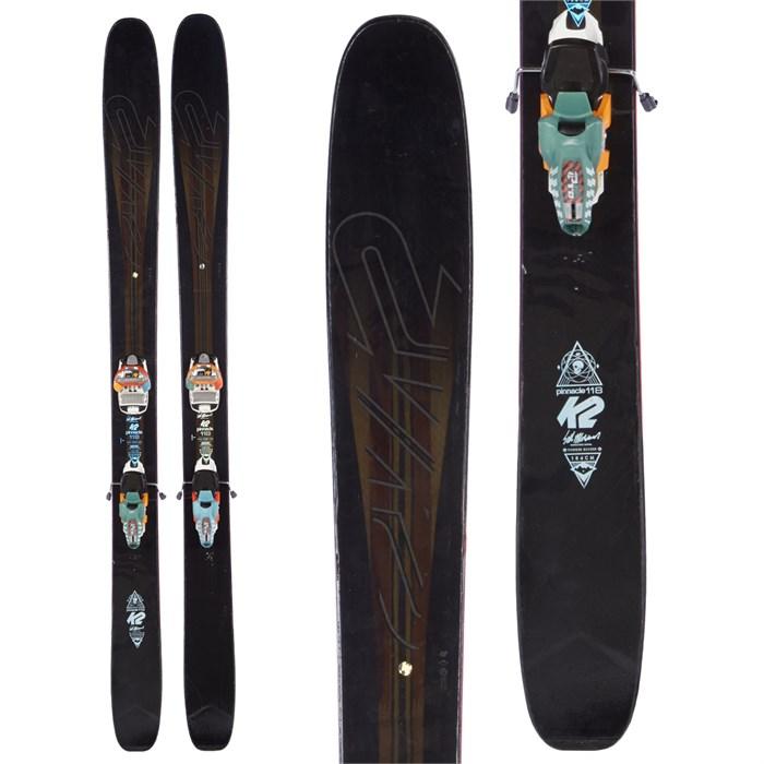 K2 Pinnacle 118 Skis + Marker Jester Pro Bindings 2016