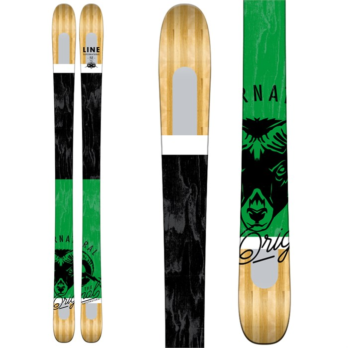 Line Skis - Supernatural 92 Skis 2017