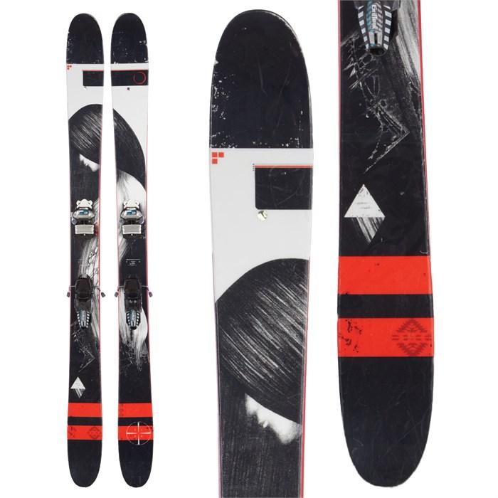 Line Skis Mordecai Skis + Marker Griffon Bindings 2016