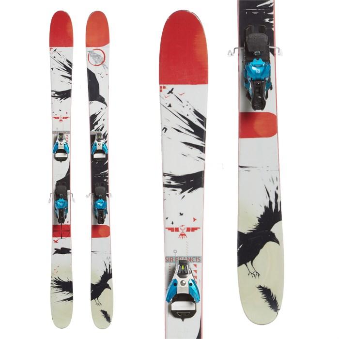 Line Skis Sir Francis Bacon Skis + Salomon STH2 16