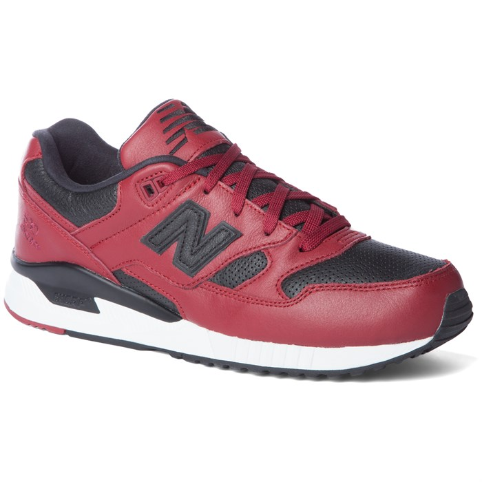 new balance 574 lux leather trainers