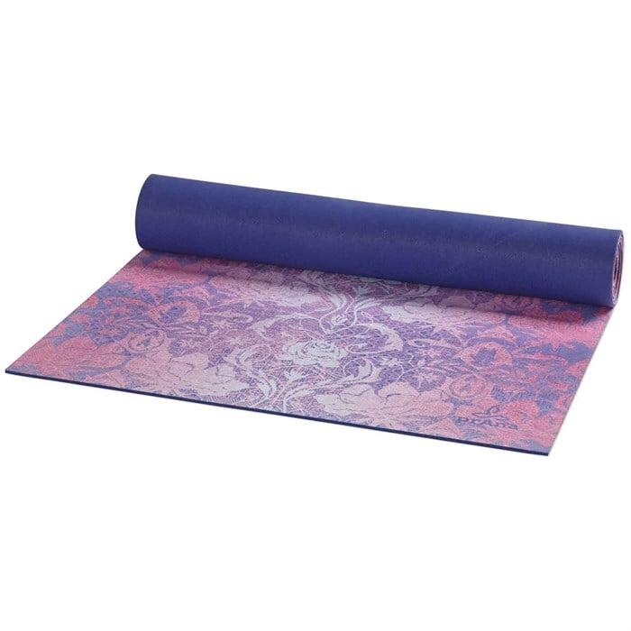 Prana Printed Microfiber Yoga Mat Evo