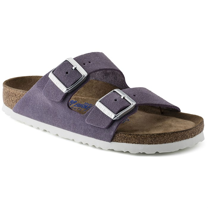 Birkenstock - Arizona Suede Sandals - Women's