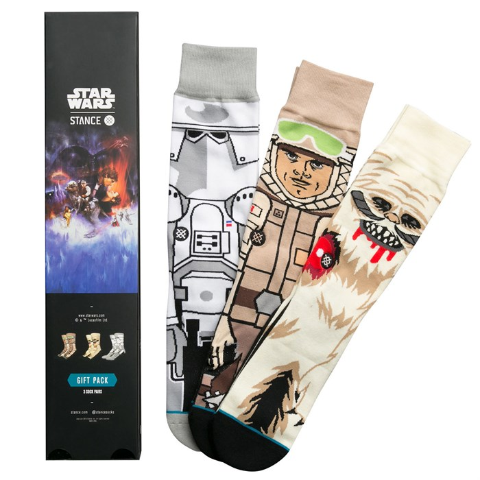 4e218273964c Stance - Empire Strikes Back Star Wars Collection Socks - 3 Pack ...