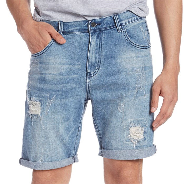 Globe - Select Ripped Denim Shorts