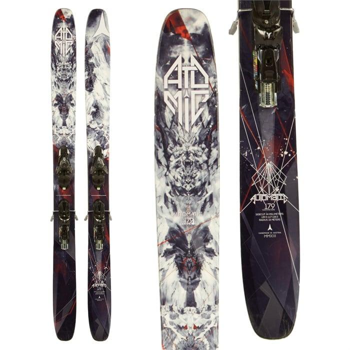 Atomic Automatic Skis + FFG 12 Demo Bindings 2014 - Used