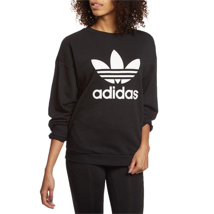 f26d3e252a6a65 Adidas - Originals Trefoil Sweatshirt - Women s ...