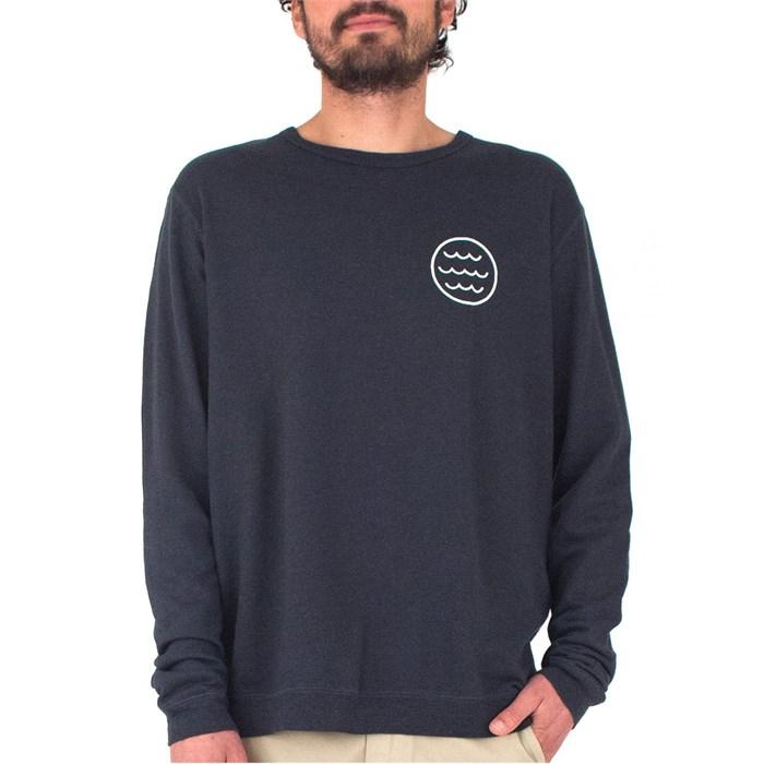 Mollusk - White Water Crew Sweatshirt