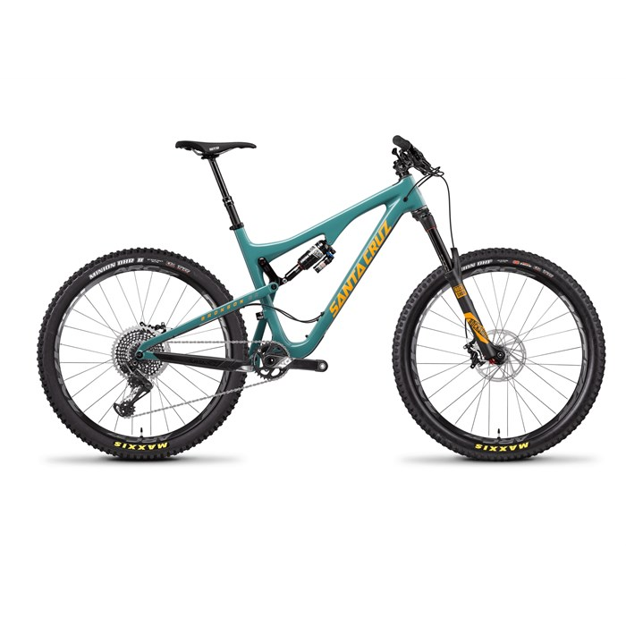 Santa Cruz Bicycles - Santa Cruz Bronson 2.0 CC X01 Complete Mountain Bike 2017