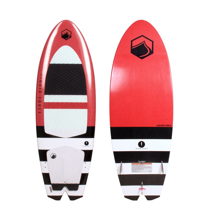 Liquid Force - Rocket Wakesurf Board with Surf Rope 2018