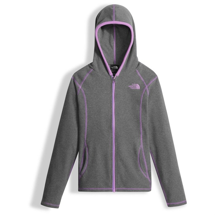 a66257067df4d The North Face Glacier Full-Zip Hoodie - Girls' | evo