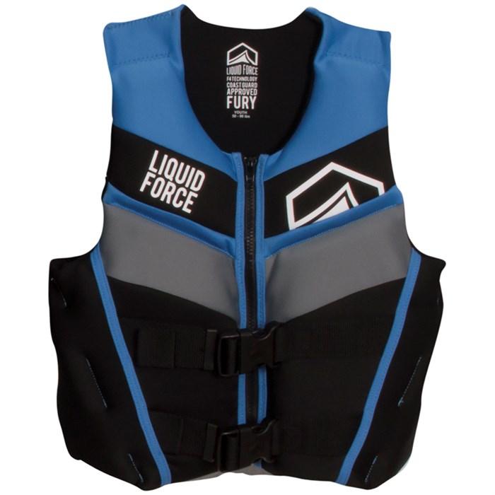 Liquid Force - Fury Youth CGA Wakeboard Vest - Boys' 2017