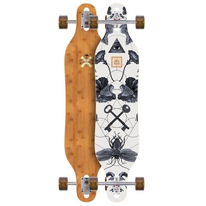 Arbor - Axis Bamboo Longboard Complete