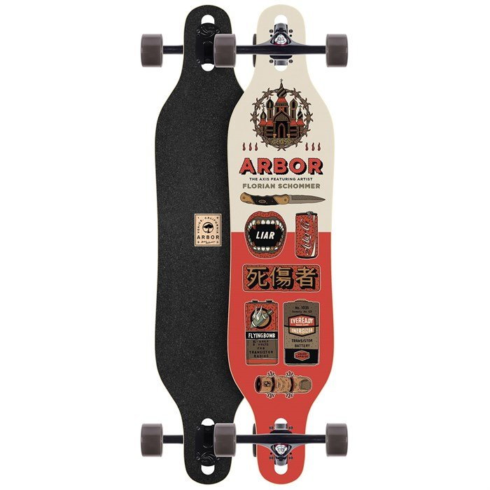 Arbor - Axis Artist Collection Longboard Complete