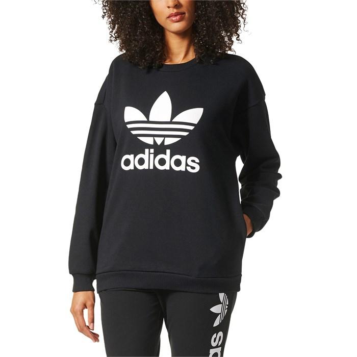 62d7d722c362 Adidas - Originals Trefoil Crewneck Sweatshirt - Women s ...