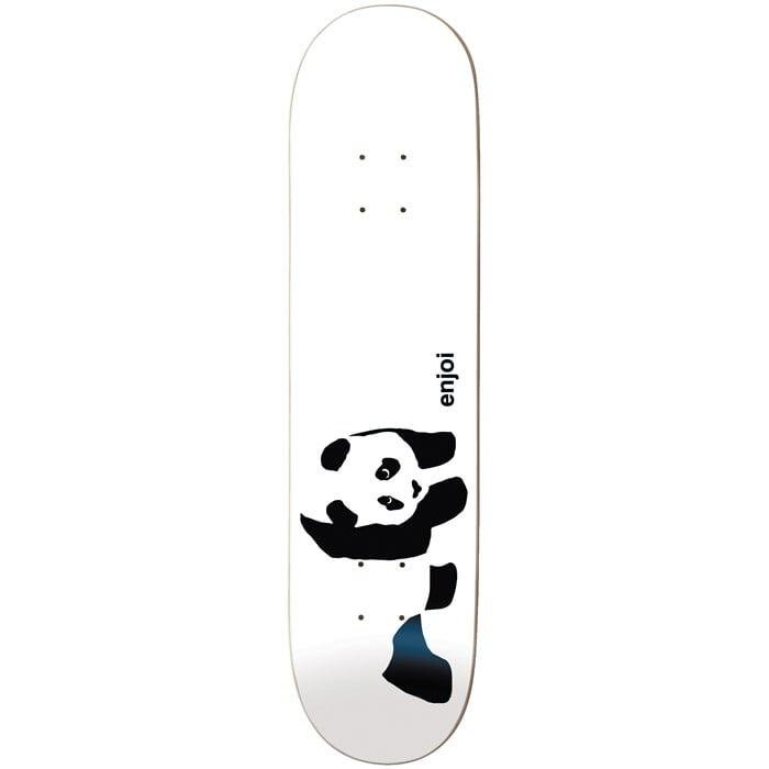 Enjoi - Whitey Panda Logo R7 7.75 Skateboard Deck