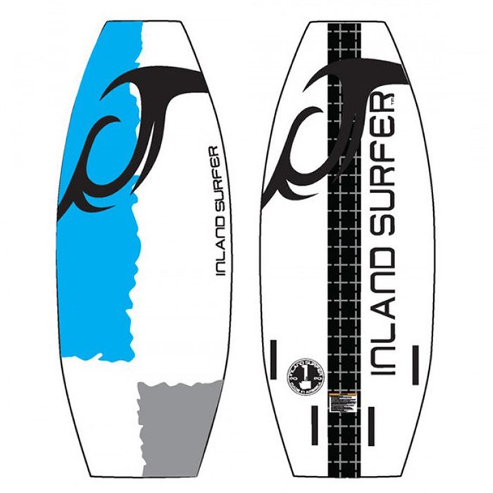 Inland Surfer - Custom Division Next Gen Wakesurf Board 2017