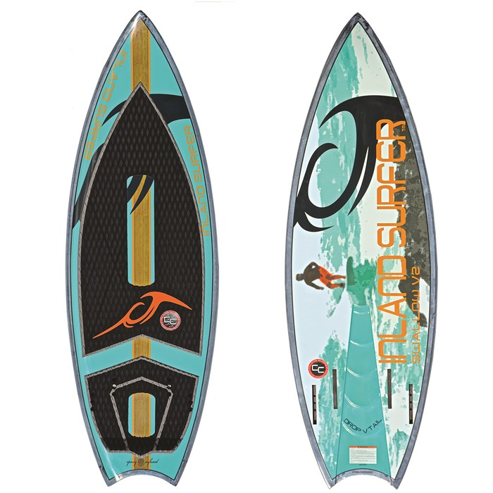 Inland Surfer - Swallow V2 Wakesurf Board 2017