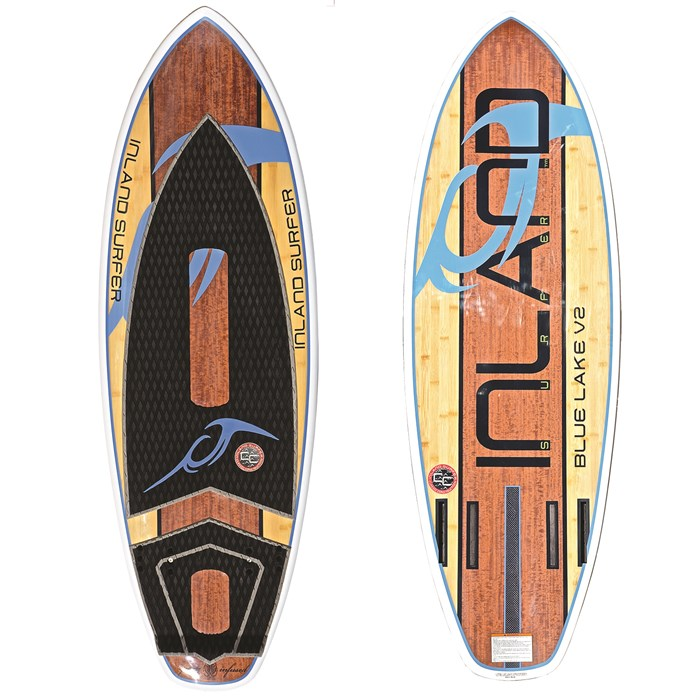 Inland Surfer - Blue Lake V2 Wakesurf Board 2017