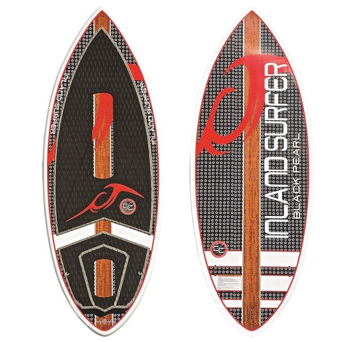 Inland Surfer - 4Skim Black Pearl Wakesurf Board 2017