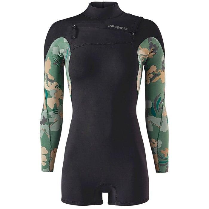 Patagonia - R1 Lite Yulex Front Zip Long Sleeve Springsuit - Women's