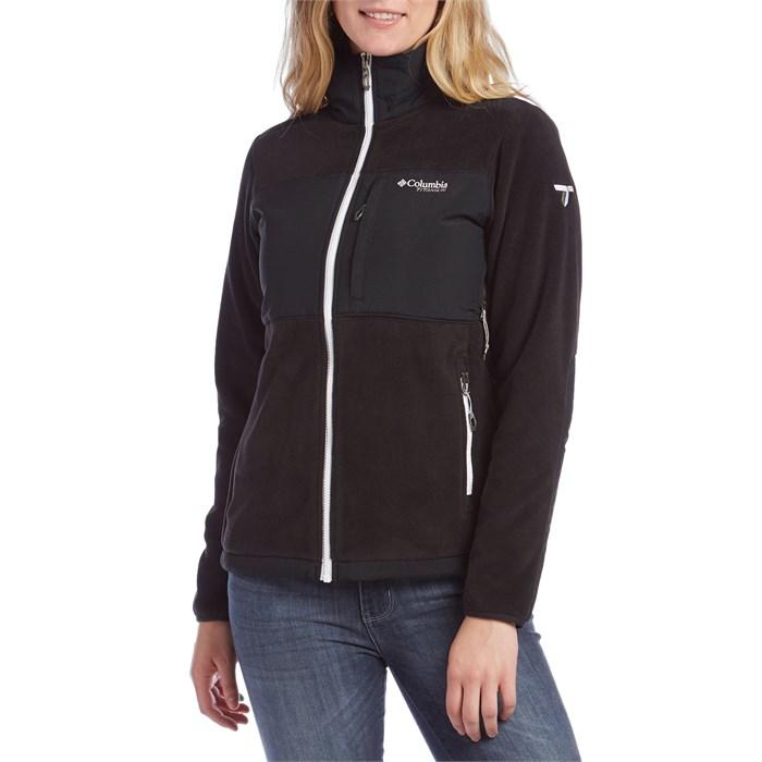 Columbia Titanium Black Ridge™ Fleece Jacket - Women's   evo