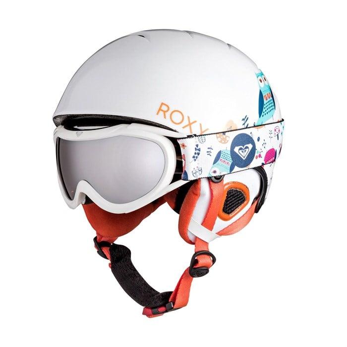 Roxy - Misty Helmet + Loola Goggle Combo - Girls'