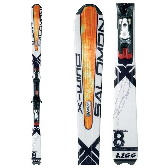 Salomon X Wing 8 Skis + Salomon S711 Bindings 2008