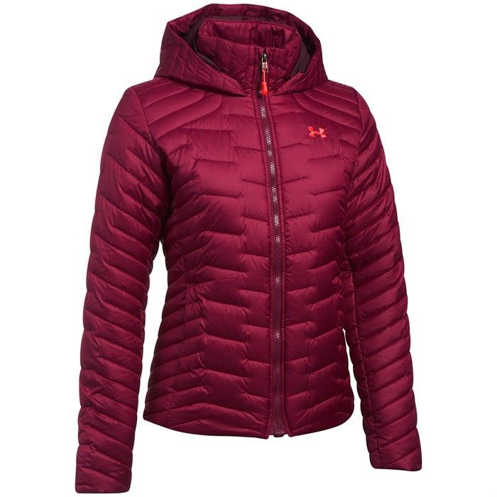 9b9c8a5405d Under Armour Coldgear® Reactor Hooded Jacket - Women's | evo