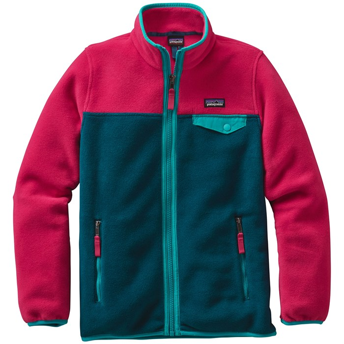 9a7d1a53387 Patagonia Lightweight Synchilla Snap-T Jacket - Girls'