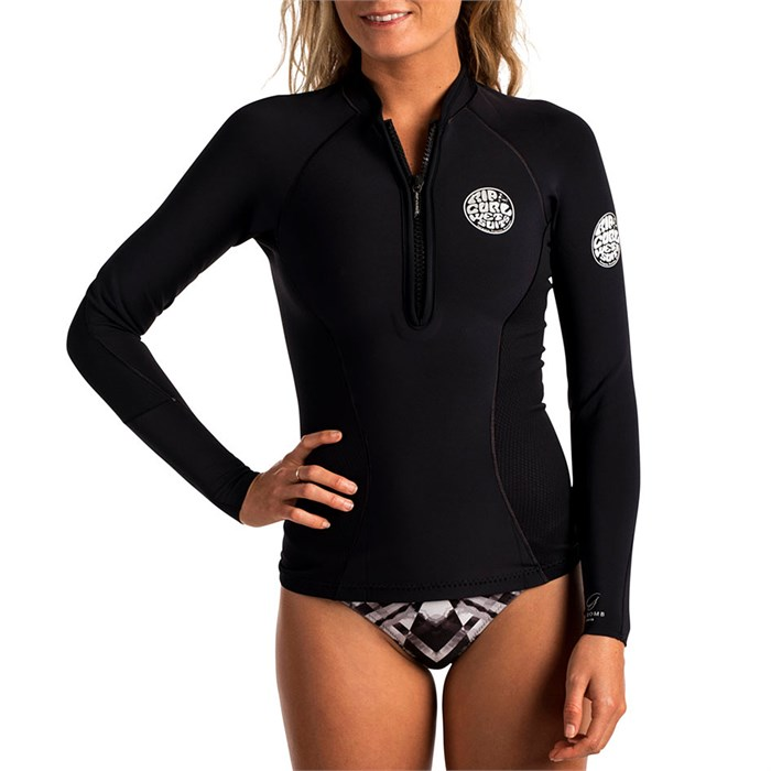 Rip Curl - 1mm G-Bomb Front Zip Long Sleeve Wetsuit Jacket - Women's
