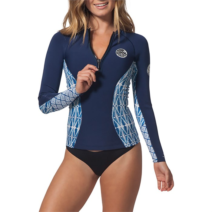 Rip Curl - 1mm G-Bomb Front Zip Long Sleeve Wetsuit Jacket - Women's