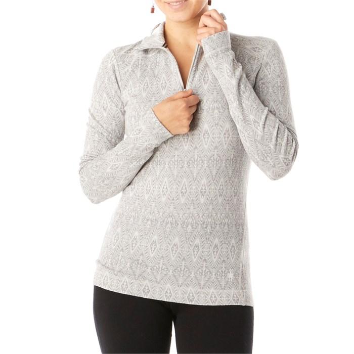 Smartwool - Merino 250 Baselayer Pattern 1/4 Zip Top - Women's