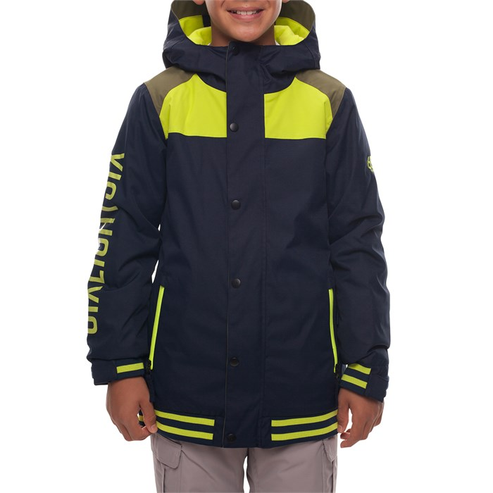 686 - Captain Insulated Jacket - Big Boys' ...