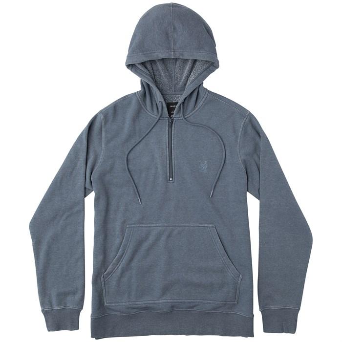 RVCA - Sunwash Pullover 3/4 Zip Hoodie