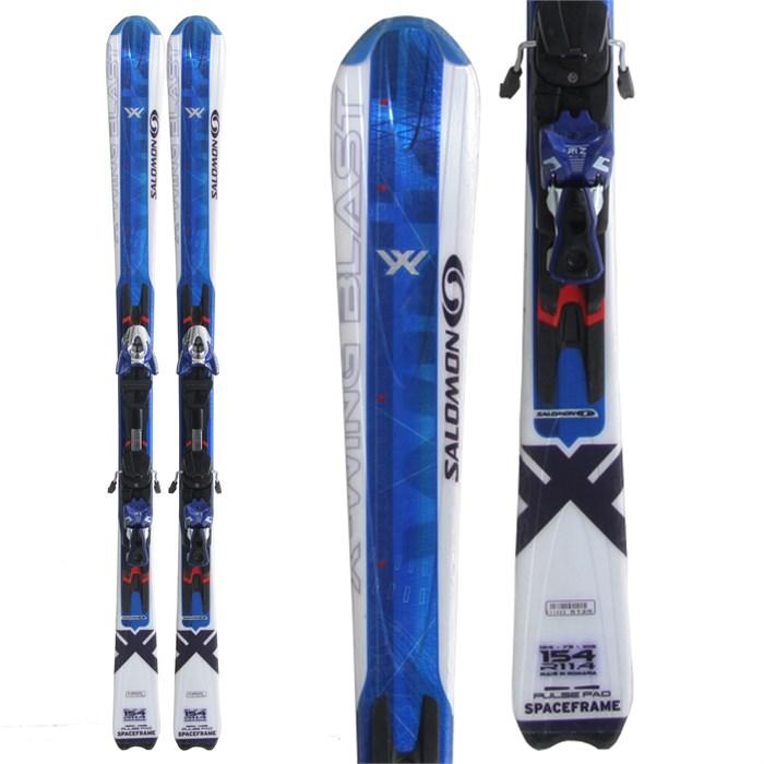 Salomon X Wing Blast Skis + Bindings - Used 2007 - Used