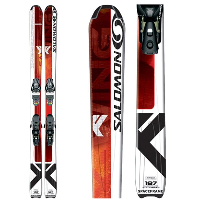 Salomon X Wing Sandstorm Skis + Bindings