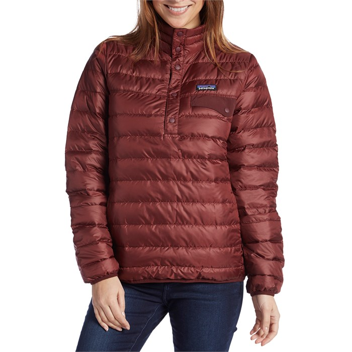 Patagonia Down Snap T 174 Pullover Jacket Women S Evo