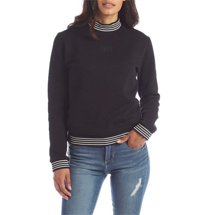 Obey Clothing - Quinn Mock Neck Fleece - Women s ... 5225357c098