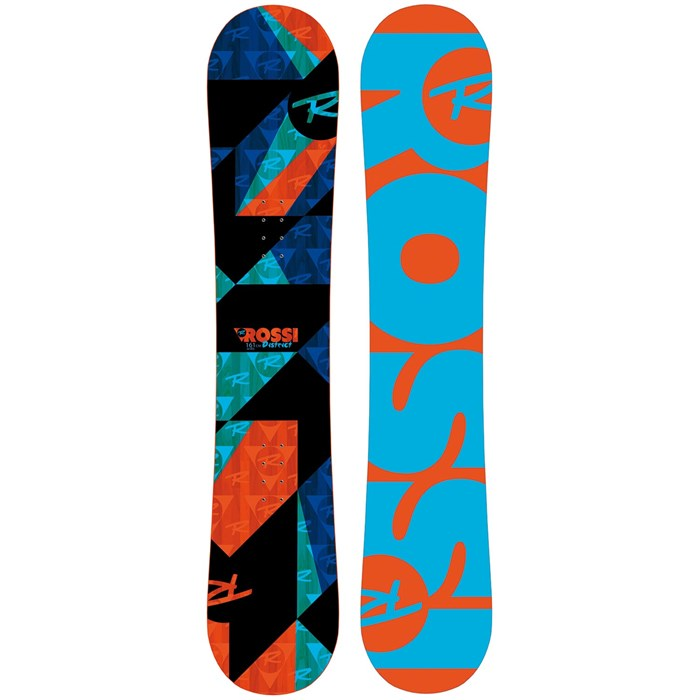 rossignol district amptek snowboard 2017 evo