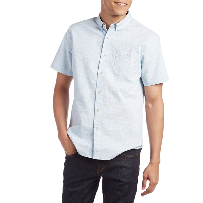Vissla - Flat Rock Stretch Short-Sleeve Button Down Shirt