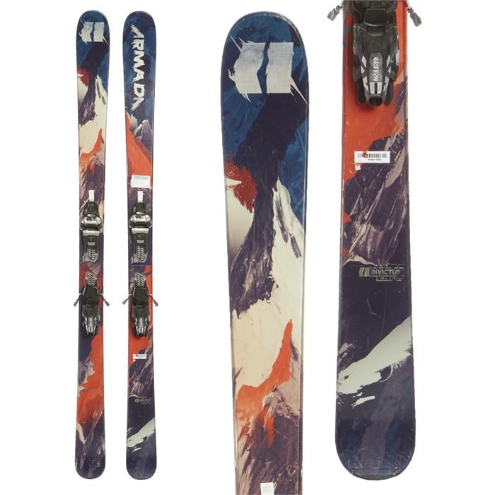 Armada Invictus 99 TI Skis + Marker Griffon Demo Bindings