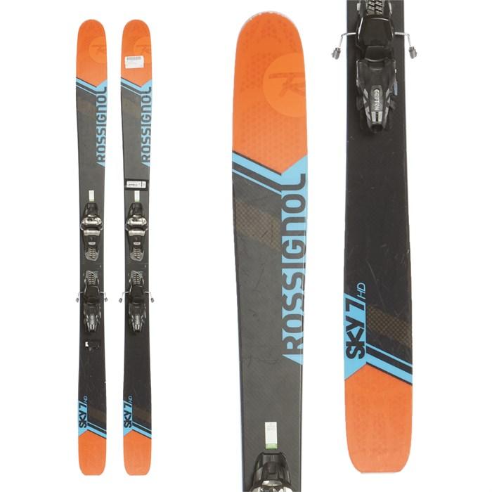 Rossignol Sky 7 HD Skis + Marker Griffon Demo Bindings