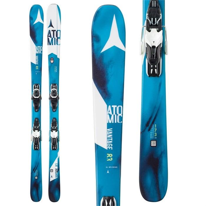 Atomic - Vantage 83 R Skis + E Lithium 10 Bindings 2017