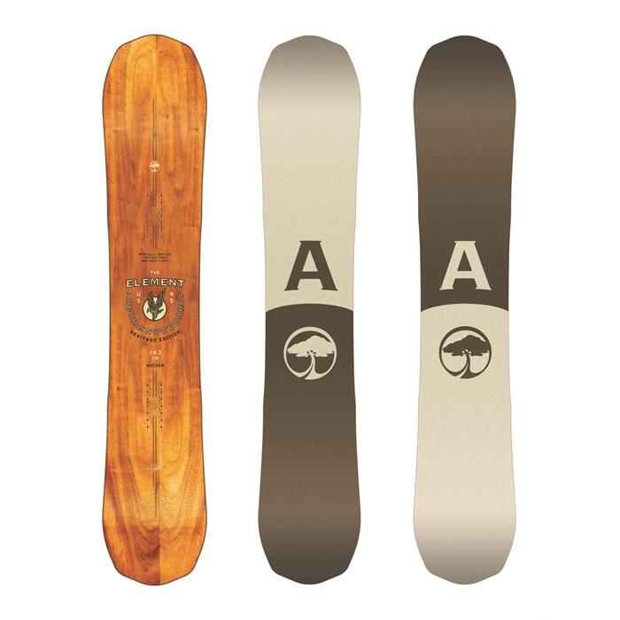 b877ca883af3 Arbor - Element Heritage Snowboard 2018