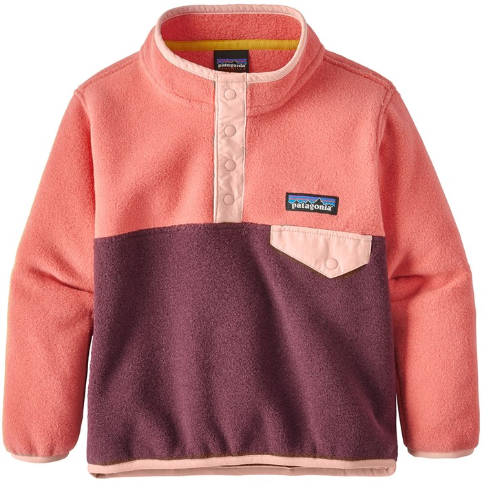 Patagonia - Lightweight Synchilla Snap-T Pullover - Toddler Girls'