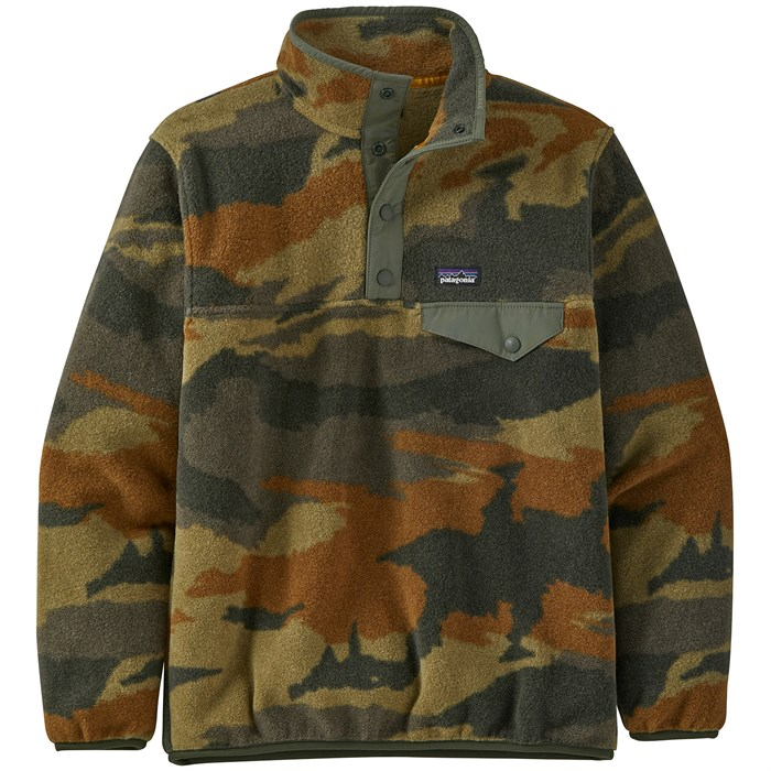 Patagonia - Lightweight Synchilla Snap-T Pullover - Boys'