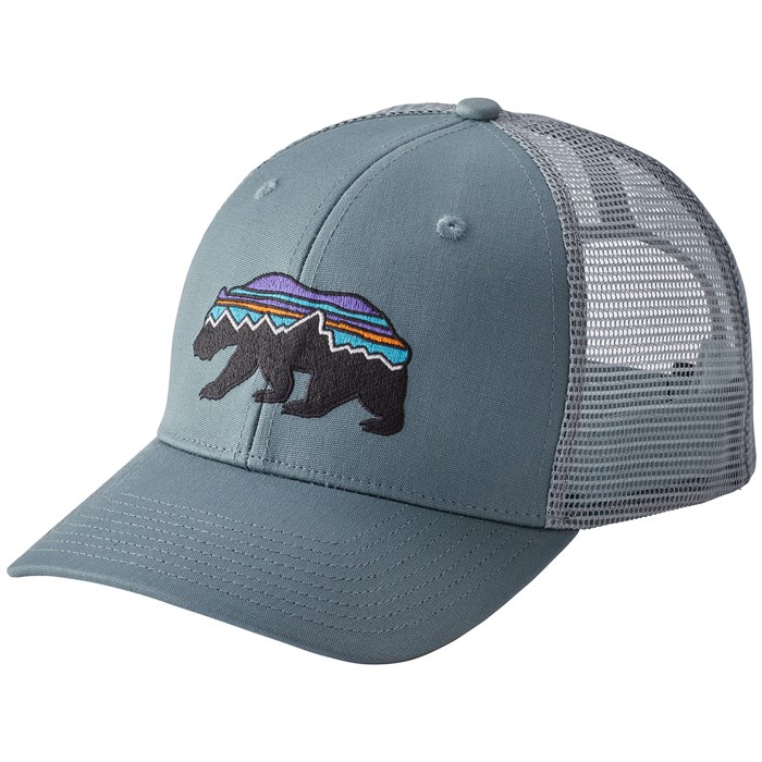 Patagonia Fitz Roy Bear Trucker Hat  2a325c46b08