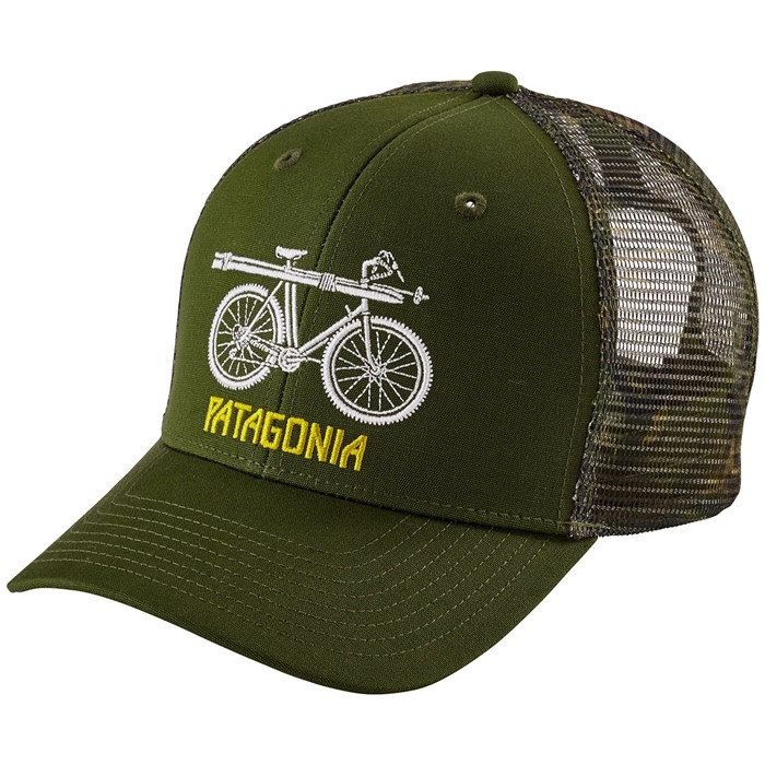 Patagonia Snow Cycle Trucker Hat Evo