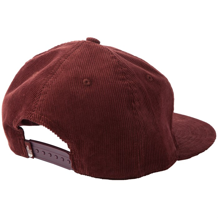 north face womens baseball hat strike cord ball cap sequoia red white uk